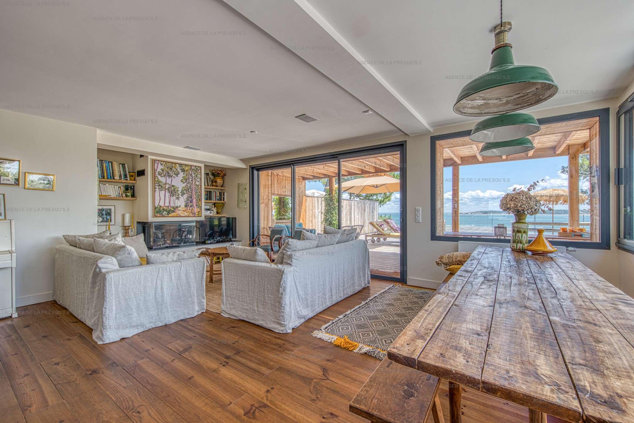 Location: Belle villa  neuve avec vue bassin et acces plage 5