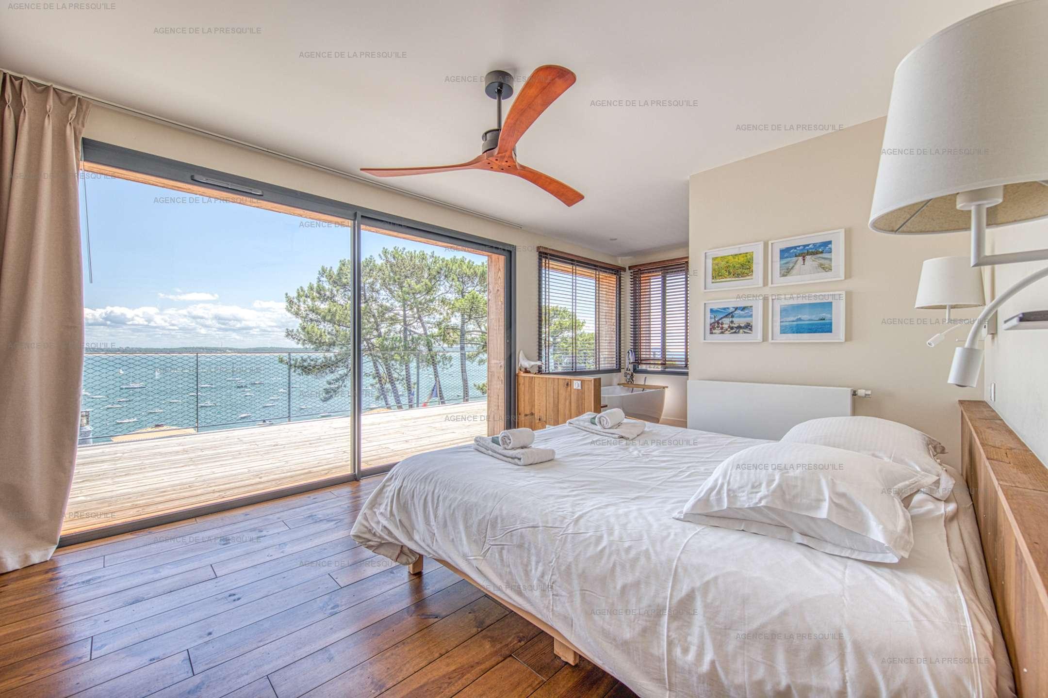 Location: Belle villa  neuve avec vue bassin et acces plage 11