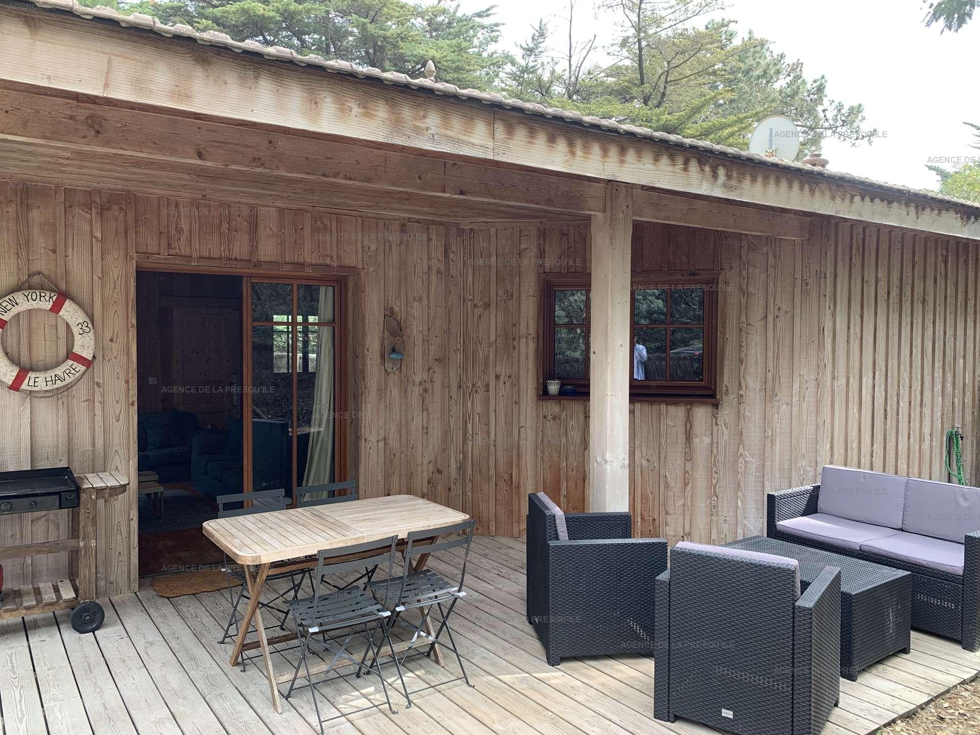 Location: Cabane mitoyenne en bois proche de l'océan 11