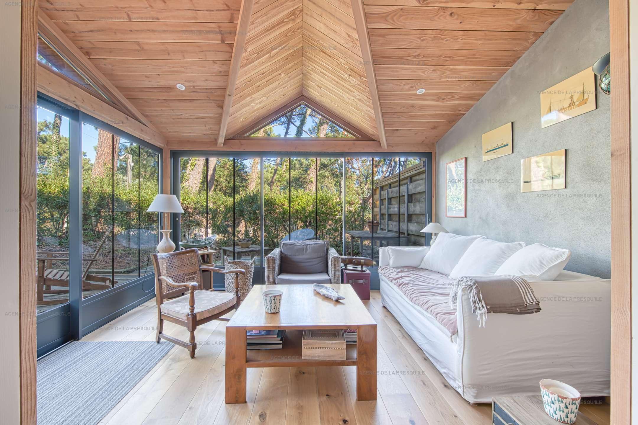 Location: Jolie villa en bois située au mimbeau 4