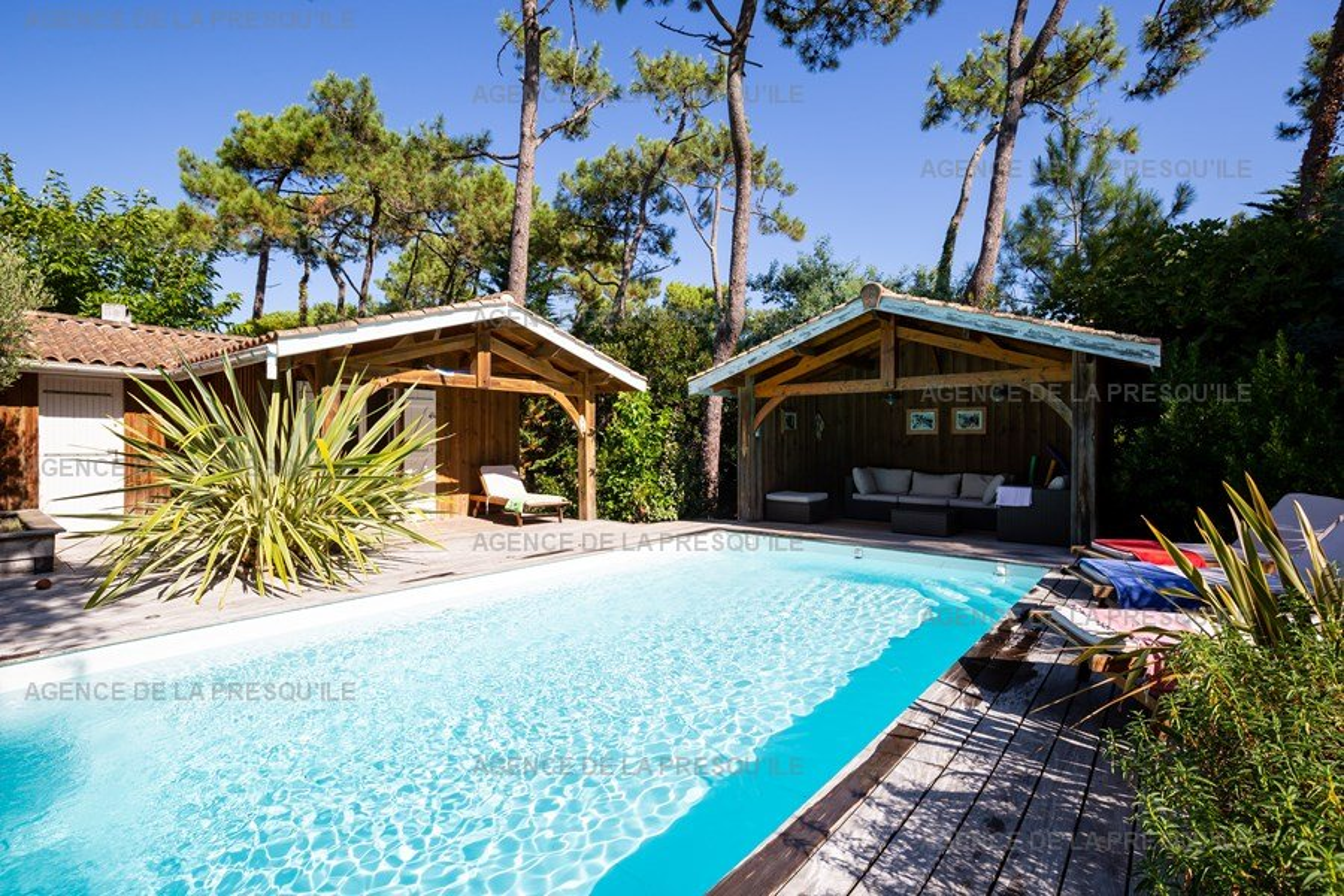 Location: Charmante villa avec piscine entre bassin et océan 7