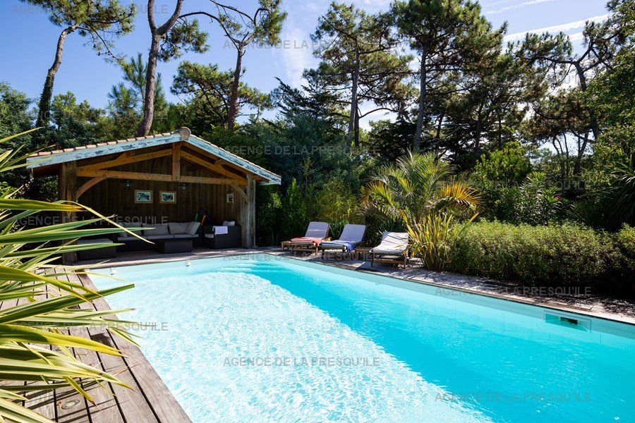Location: Charmante villa avec piscine entre bassin et océan 14