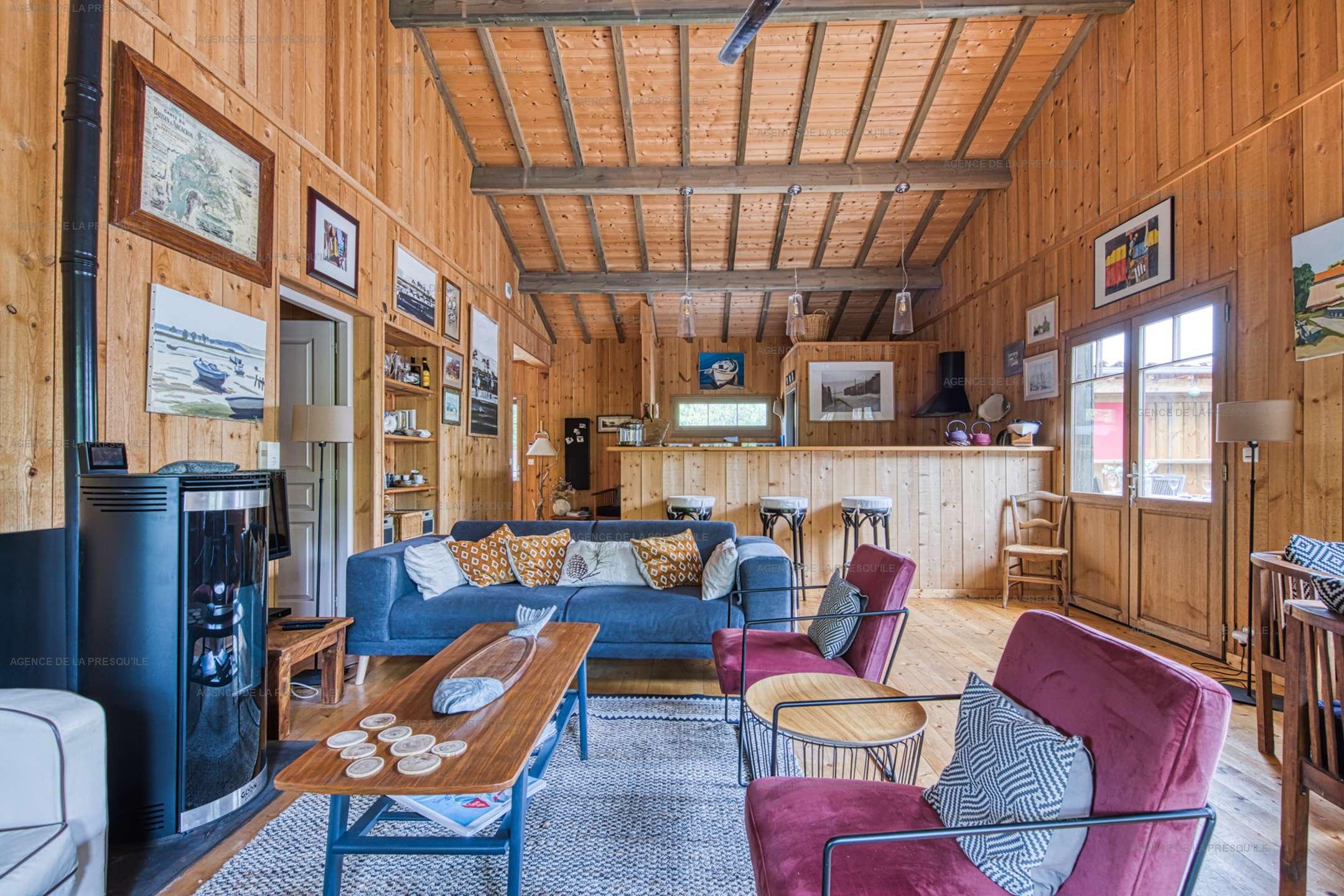 Location: Belle villa en bois au pied du phare 4