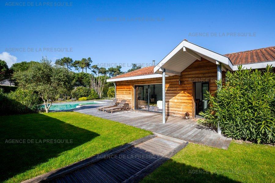 Location: Villa bois avec piscine chauffée 2