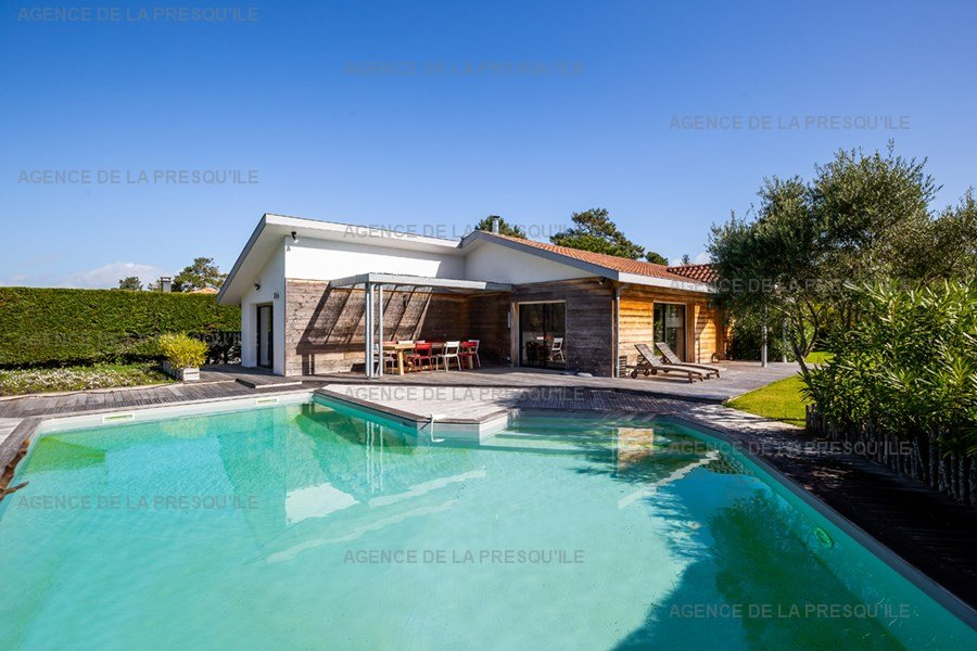 Location: Villa bois avec piscine chauffée 3