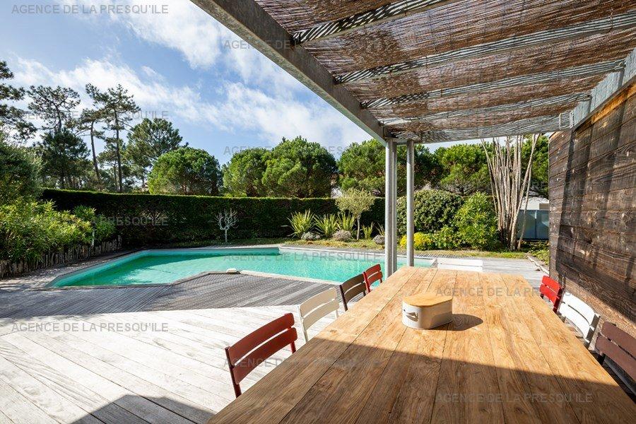 Location: Villa bois avec piscine chauffée 4
